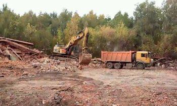 земляные работы экскаватором в Москве